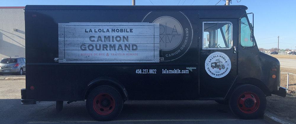 camion publicité mobile